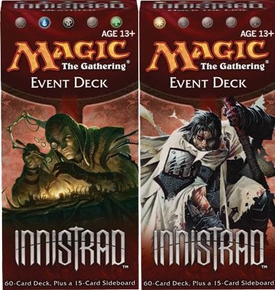 Magic the Gathering Innistrad Set of Both Event Decks [Hold the Line & Deathfed]
