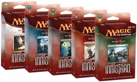 Magic the Gathering Innistrad Set of 5 Theme Deck Intro Packs
