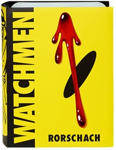 Watchmen Club Black Freighter Exclusive Action Figure Rorschach