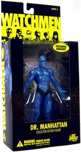 DC Direct Watchmen Movie Series 2 Action Figure Dr. Manhattan [Translucent Variant]