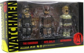 Medicom Watchmen Kubrick Set A  [The Comedian, Night Owl II & Ozymandias]
