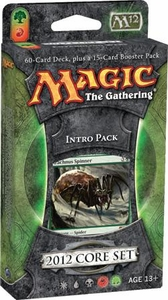 Magic the Gathering M12 2012 Core Set Intro Pack Entangling Webs