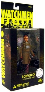 DC Direct Watchmen Movie Exclusive Action Figure Rorschach [No Mask]