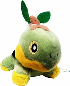 Pokemon Japanese Banpresto 3 Inch Plush Figure Turtwig
