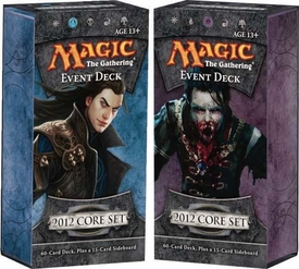 Magic the Gathering M12 2012 Set of Both Event Decks [Illusionary Might & Vampire Onslaught]
