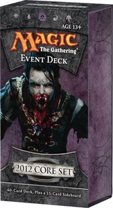 Magic the Gathering M12 2012 Event Deck Vampire Onslaught Comes with Verdant Catacombs!