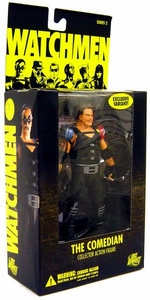 DC Direct Watchmen Movie Series 2 Exclusive Action Figure Comedian [Unmasked Variant]