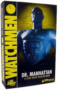 DC Direct 13 Inch Deluxe Collectors Action Figure Dr. Manhattan [Watchmen Movie]