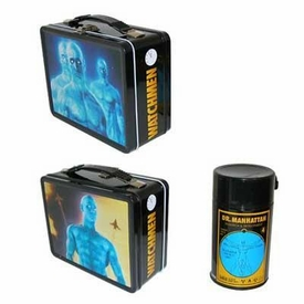 NECA Watchmen Movie Dr. Manhattan Lunchbox with Drink Container