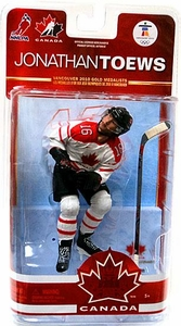McFarlane Toys NHL Sports Picks Team Canada 2010 Series 2 Action Figure Jonathan Toews (Chicago Blackhawks) White Jersey