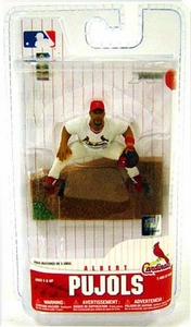 McFarlane Toys MLB 3 Inch Sports Picks Series 6 Mini Figure Albert Pujols (St. Louis Cardinals)