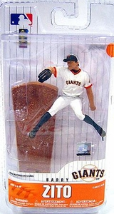 McFarlane Toys MLB 3 Inch Sports Picks Series 6 Mini Figure Barry Zito (San Francisco Giants)