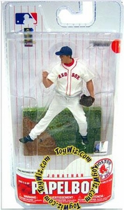 McFarlane Toys MLB 3 Inch Sports Picks Series 6 Mini Figure Jonathan Papelbon (Boston Red Sox)