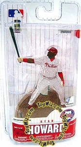 McFarlane Toys MLB 3 Inch Sports Picks Series 6 Mini Figure Ryan Howard (Philadelphia Phillies)