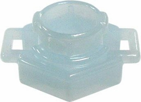Beyblades Metal Fusion LOOSE Parts Spin Track Low Profile 100 [Pale Aqua]