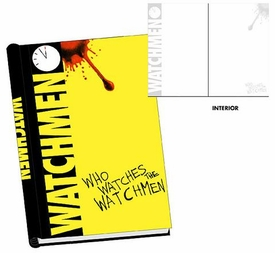 NECA Watchmen Movie Who Watches the Watchmen Hard Cover Journal