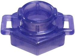 Beyblades Metal Fusion LOOSE Parts Spin Track Low Profile 100 [Pearl Purple]