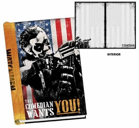 NECA Watchmen Movie The Comedian Hard Cover Journal