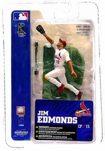 McFarlane Toys MLB 3 Inch Sports Picks Series 5 Mini Figure Jim Edmonds (St. Louis Cardinals)