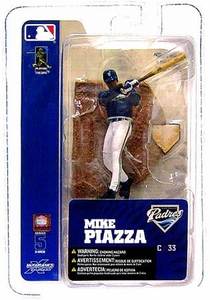 McFarlane Toys MLB 3 Inch Sports Picks Series 5 Mini Figure Mike Piazza (San Diego Padres)