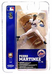 McFarlane Toys MLB 3 Inch Sports Picks Series 5 Mini Figure Pedro Martinez (New York Mets)