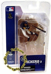 McFarlane Toys MLB 3 Inch Sports Picks Series 3 Mini Figure Ichiro (Seattle Mariners)