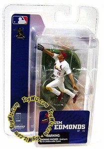 McFarlane Toys MLB 3 Inch Sports Picks Series 3 Mini Figure Jim Edmonds (St. Louis Cardinals) BLOWOUT SALE!