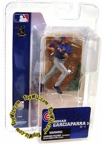 McFarlane Toys MLB 3 Inch Sports Picks Series 3 Mini Figure Nomar Garciaparra (Chicago Cubs)
