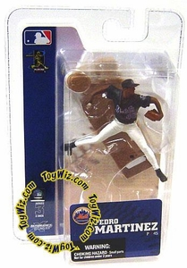 McFarlane Toys MLB 3 Inch Sports Picks Series 3 Mini Figure Pedro Martinez (New York Mets)