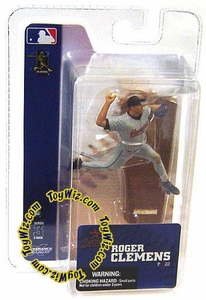 McFarlane Toys MLB 3 Inch Sports Picks Series 3 Mini Figure Roger Clemens (Houston Astros)