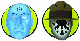 NECA Watchmen Movie Set of 2 Magnets Rorschach & Dr. Manhattan