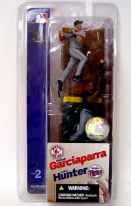 McFarlane Toys MLB 3 Inch Sports Picks Series 2 Mini Figure 2-Pack Nomar Garciaparra (Boston Red Sox) & Torii Hunter (Minnesota Twins)