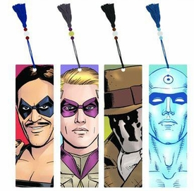 NECA Watchmen Movie Character Art Set of 4 Bookmarks