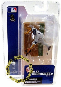 McFarlane Toys MLB 3 Inch Sports Picks Series 3 Mini Figure Alex Rodriguez (New York Yankees)