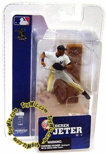 McFarlane Toys MLB 3 Inch Sports Picks Series 3 Mini Figure Derek Jeter (New York Yankees)