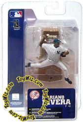 McFarlane Toys MLB 3 Inch Sports Picks Series 4 Mini Figure Mariano Rivera (New York Yankees) All Time Saves Leader!