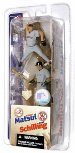 McFarlane Toys MLB 3 Inch Sports Picks Series 2 Mini Figure 2-Pack Hideki Matsui (New York Yankees) & Curt Schilling (Boston Red Sox)