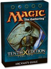 Magic the Gathering Tenth (10th) Edition Theme Deck Arcanis's Guile
