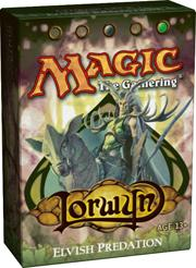 Magic the Gathering Lorwyn Theme Deck Elvish Predation