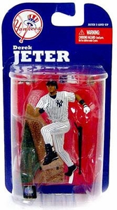 McFarlane Toys MLB 3 Inch Sports Picks Series 7 Mini Figure Derek Jeter (New York Yankees)