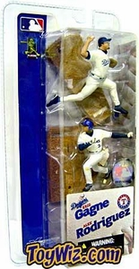 McFarlane Toys MLB 3 Inch Sports Picks Series 1 Mini Figure 2-Pack Eric Gagne (Los Angeles Dodgers) & Alex Rodriguez (Texas Rangers)