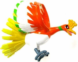 Pokemon Diamond & Pearl Japanese PVC Figure Collection MC-46 Ho-Oh [LOOSE]