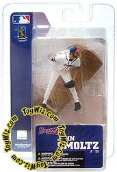 McFarlane Toys MLB 3 Inch Sports Picks Series 4 Mini Figure John Smoltz (Atlanta Braves)