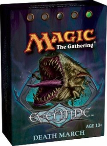 Magic the Gathering Eventide Theme Deck Death March
