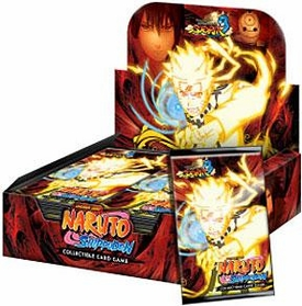 Naruto Shippuden Card Game Ultimate Ninja Storm 3 Booster BOX [24 Packs]