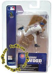 McFarlane Toys MLB 3 Inch Sports Picks Series 4 Mini Figure Kerry Wood (Chicago Cubs)
