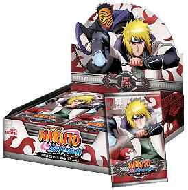 Naruto Shippuden Card Game Hero's Ascension Booster Box [24 Packs]