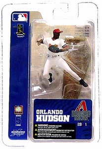 McFarlane Toys MLB 3 Inch Sports Picks Series 5 Mini Figure Orlando Hudson (Arizona Diamondbacks)