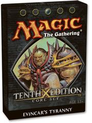 Magic the Gathering Tenth (10th) Edition Theme Deck Evincar's Tyranny