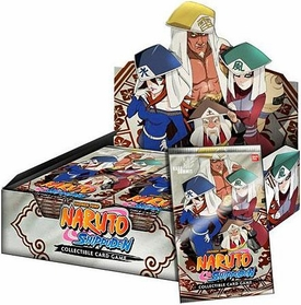Naruto Shippuden Card Game Kage Summit Booster BOX [24 Packs]